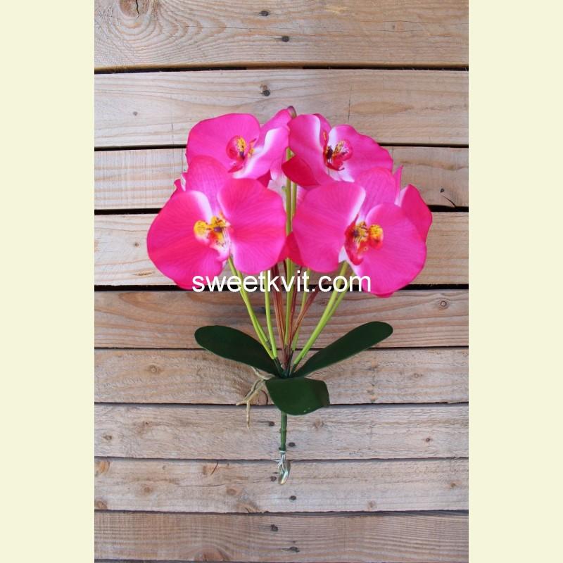 Искусственная орхидея куст, 37 см