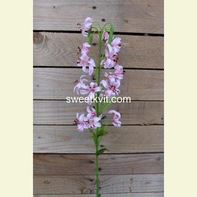 Искусственная лилия ветка, 85 см