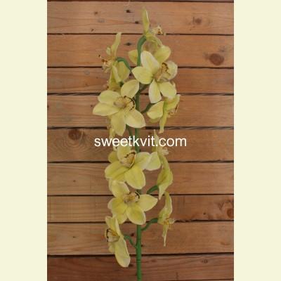 Искусственная орхидея ветка, 115 см