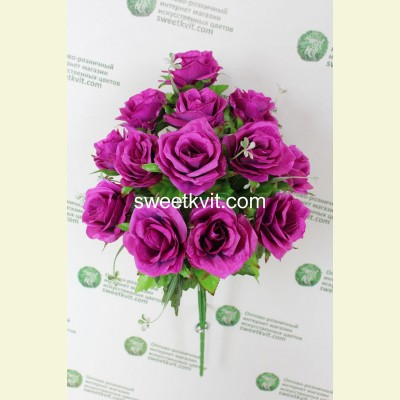 Искусственная роза букет, 59 см