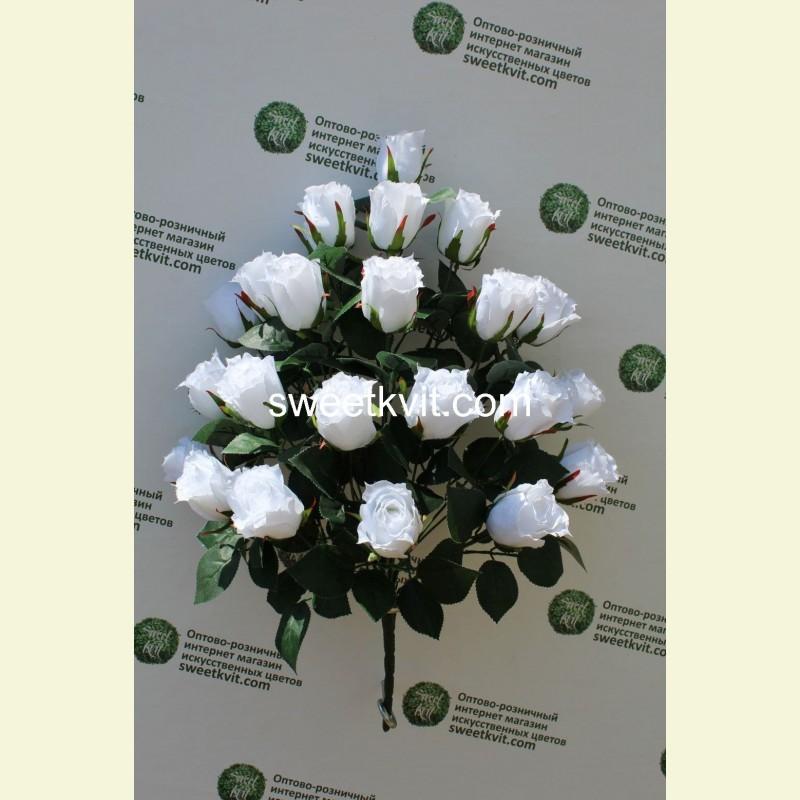Искусственная роза букет, 54 см