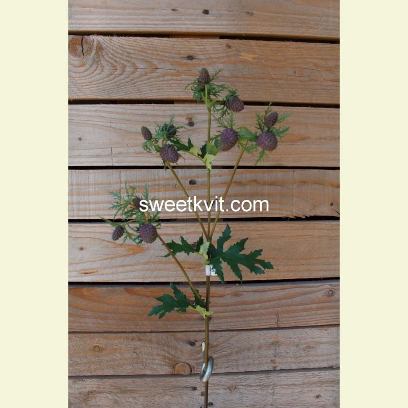 Искусственная крымская колючка ветка, 54 см