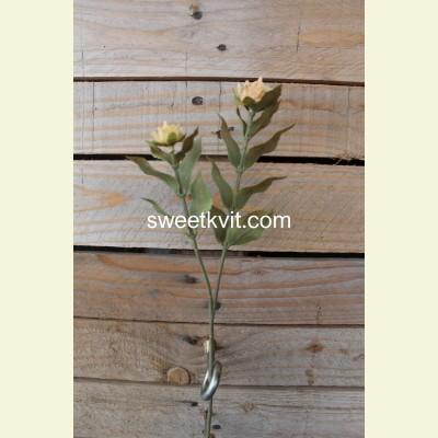 Искусственная лилия ветка, 34 см