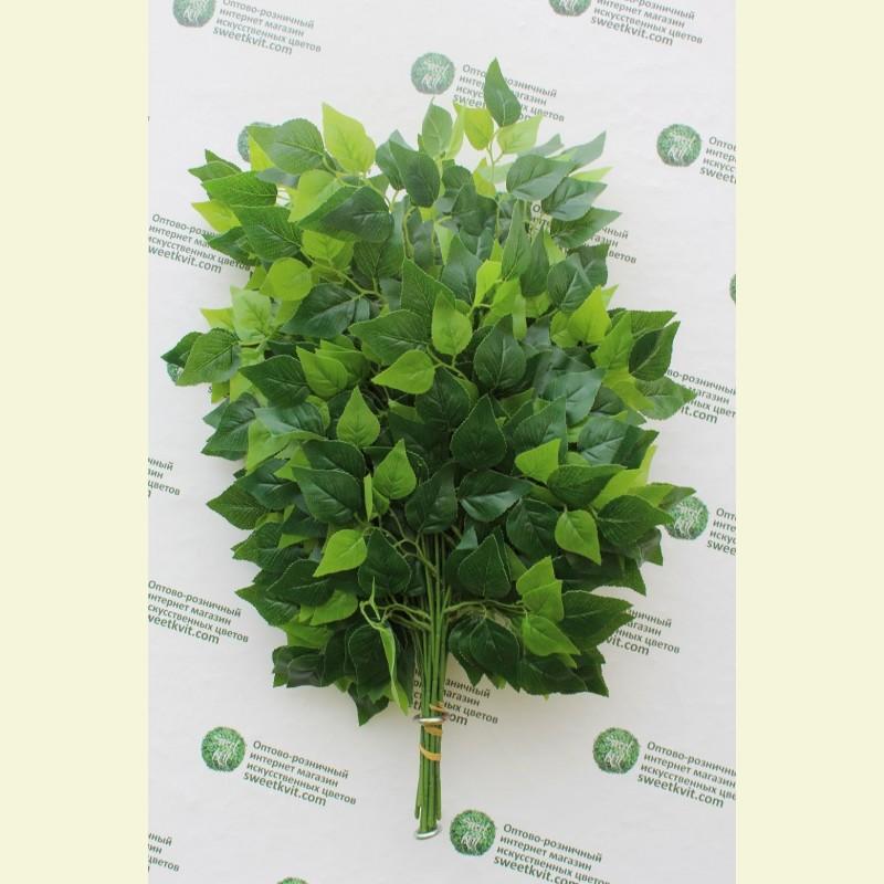 Искусственные листья березы, 75 см