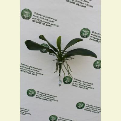 Искусственная орхидея куст, 18 см