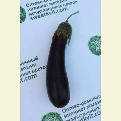 Искусственные овощи. Баклажан, 18 см