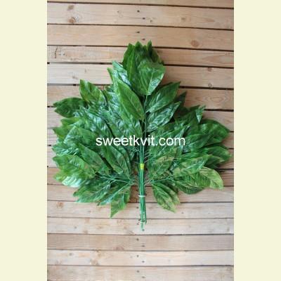 Искусственные листья манго, 74 см