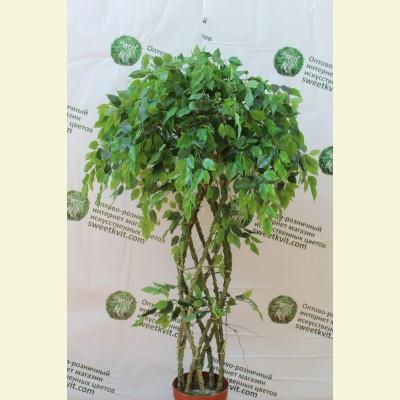Искусственный фикус дерево, 135 см