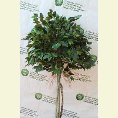 Искусственный фикус дерево, 160 см