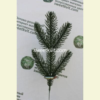 Искусственная ель ветка, 28 см
