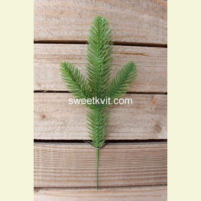 Искусственная ель ветка, 26 см