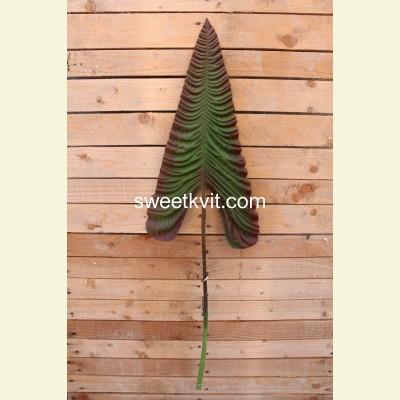 Искусственный лист каллы, 110 см