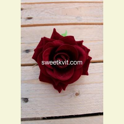 Искусственная роза - насадка, Ø 10 см