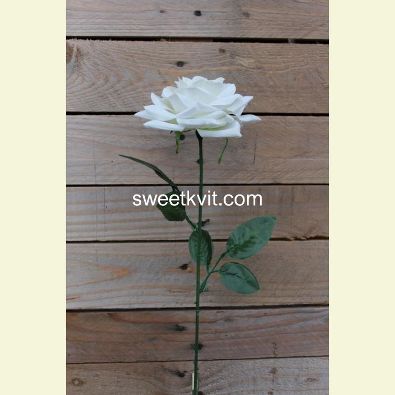 Искусственная роза, 70 см