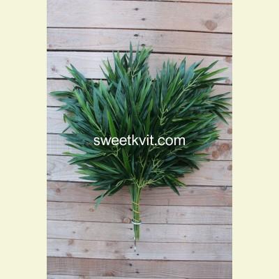 Искусственные листья бамбука, 60 см