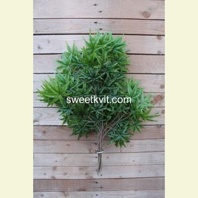 Искусственные листья конопли, 60 см