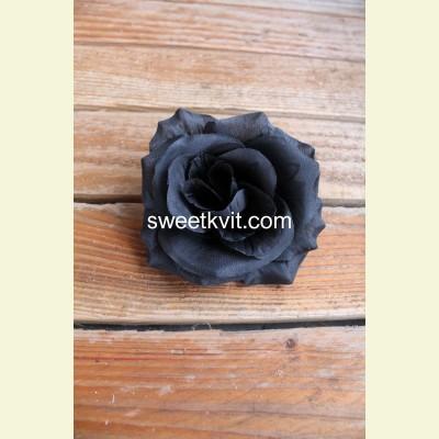 Искусственная роза - насадка, Ø 11 см
