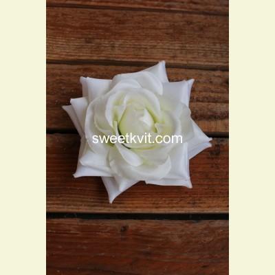 Искусственная роза - насадка, Ø 14 см
