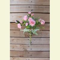 Искусственная роза букет, 25 см