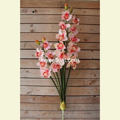 Искусственная орхидея куст, 103 см