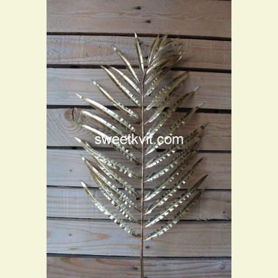 Искусственный лист пальмы ареки, 87 см