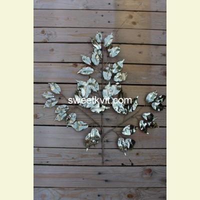 Искусственный лист фикуса, 60 см