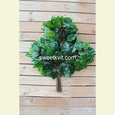 Искусственные листья фикуса, 64 см