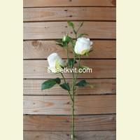 Искусственная роза ветка, 64 см