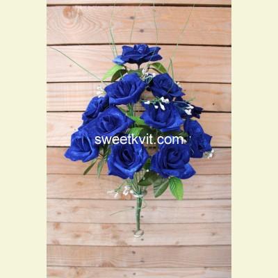 Искусственная роза букет, 46 см