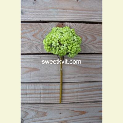 Искусственные ягоды ветка, 25 см