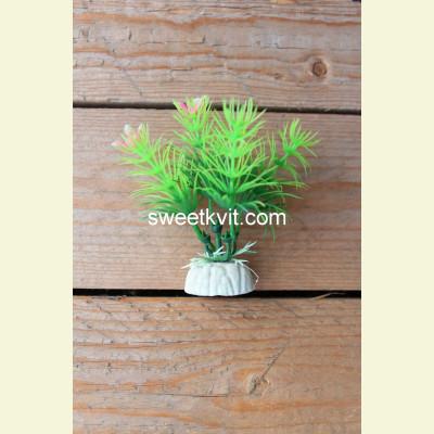 Искусственная водоросль куст, 9 см
