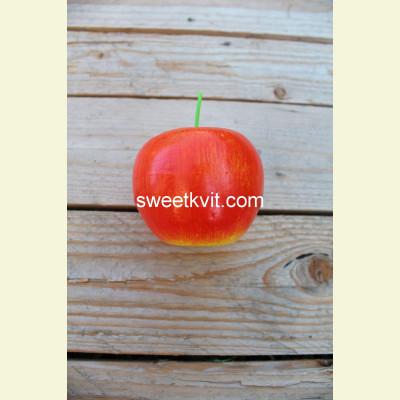 Искусственные фрукты. Яблоко, 6 см