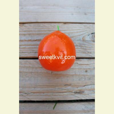 Искусственные фрукты. Мандарин, 7 см