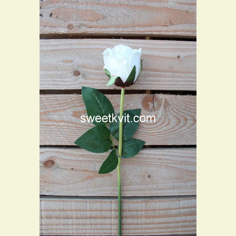 Искусственная роза, 45 см