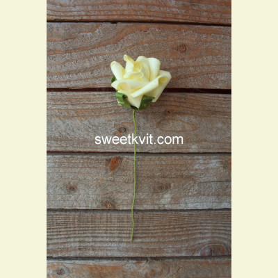 Искусственная роза, 22 см