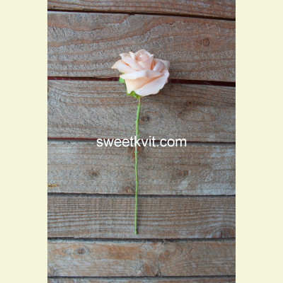 Искусственная роза, 25 см