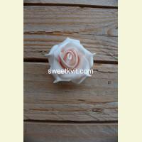 Искусственная роза - насадка, Ø 6 см