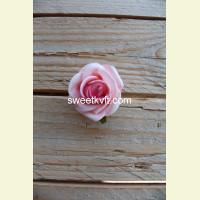 Искусственная роза - насадка, Ø 5 см