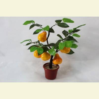 Искусственное грушевое дерево, 40 см