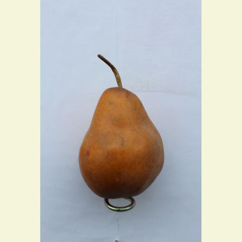 Искусственные фрукты. Груша, 13 см