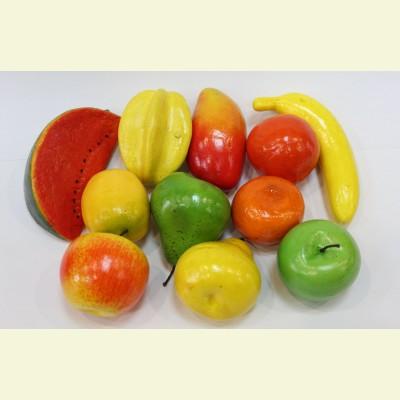Искусственные фрукты. Набор 10 шт