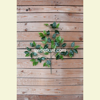 Искусственные листья фикуса, 54 см