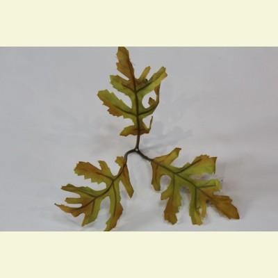 Искусственный лист ромашки, 15 см