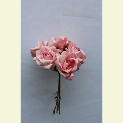 Искусственная роза пучок