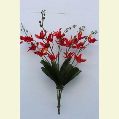 Искусственная орхидея букет
