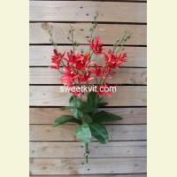 Искусственная орхидея куст, 50 см