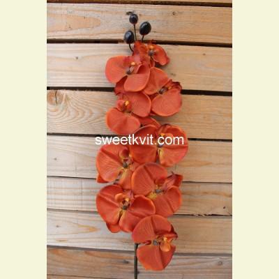 Искусственная орхидея ветка, 90 см