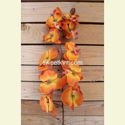 Искусственная орхидея ветка, 97 см
