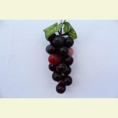 Искусственные фрукты. Виноград гроздь, 12 см