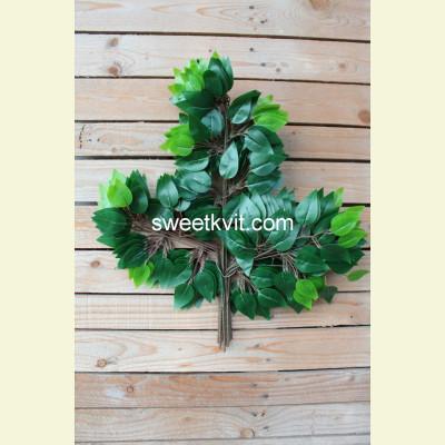 Искусственные листья фикуса, 60 см